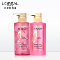 欧莱雅 奇焕润发精油蔷薇臻耀 洗发露水润发乳护发素发膜套装