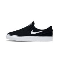 【4折价:131.6元】耐克(Nike)童鞋 春夏新款一脚蹬板鞋 男女童运动休闲鞋882989-002 黑色
