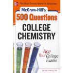 【预订】McGraw-Hill's 500 College Chemistry Questions: Ace Your