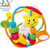 汇乐929健儿玩具球宝宝益智球类摇铃婴儿手抓球3-6-12个月一岁