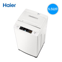 Haier海尔 波轮洗衣机 EB55M919 5.5公斤全自动波轮洗衣机 量衣进水 智能双宽