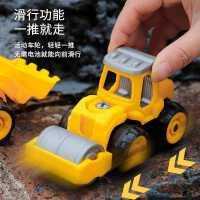 儿童可拆卸挖机宝宝积木拼装车玩具工程车礼物男孩益智汽车模型