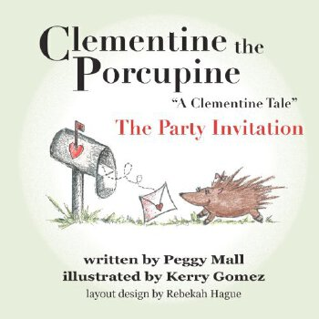"Clementine the Porcupine - ""A Clementine Tale""The Party Invitation [ISBN: 978-1469933405] 美国发货无法退货,约五到八周到货"