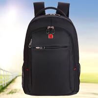 新款瑞士军刀双肩包男包笔记本电脑包学生书包休闲背包礼品定制印logo
