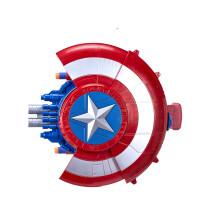 漫威 美国队长 钢铁侠 玩具发射器 飞盘 cospaly 礼物