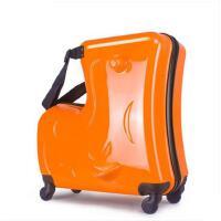 儿童行李箱男20寸可坐可骑旅行箱小木拉箱 学生箱包宝宝拉杆箱