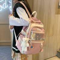 初中生书包小学生韩版可爱三五六年级女生大容量双肩包女2021背包
