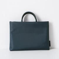 电脑包防水男女士惠普苹果联想华硕笔记本手提袋13.3寸14寸15.6寸 藏青色 A817 14寸