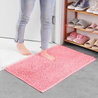 雪尼尔地垫浴室防滑吸水门垫进门门口厨房卧室卫生间脚垫垫子地毯家居日用生活日用浴室用品