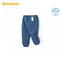 巴拉巴拉儿童裤子女童打底裤2020新款时尚夹棉运动裤保暖休闲裤女