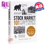 【中商原版】101系列:股票市场 英文原版 Stock Market 101 Michele Cagan Adams