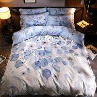 床上四件套床单被套床双人床上用品套件 春意浓