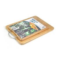普润 小号竹制菜板菜板实木竹案板厨房切菜板粘板擀面板家用砧板占蒸板刀板