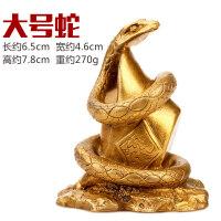 黄铜十二生肖摆件中式大小鼠牛虎兔龙蛇马羊猴鸡狗猪工艺品