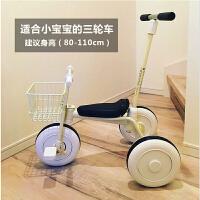 日本脚踏车 儿童三轮车1-3周岁宝宝手推车幼童自行车轻便小孩车子