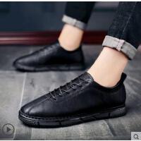 男士休闲鞋新款男英伦小皮鞋男韩版鞋子男潮鞋豆豆鞋男鞋网红时尚户外新品