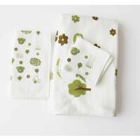竹纤维加厚吸水婴儿方巾/抱被/浴巾/竹棉毛巾