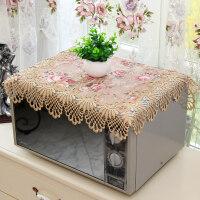 微波炉罩防尘罩烤箱盖布美的格兰仕防油微波炉盖巾厨房盖布防尘布 56*56cm方*1片
