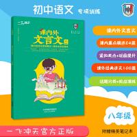 2021版一飞冲天课内外文言文 初二8八年级 阅读古文国学 分类解读
