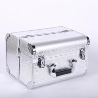 化妆箱手提式收纳箱多层时尚创意多功能美甲首饰盒工具箱整理箱Q