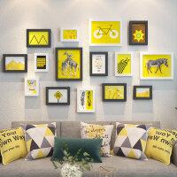 照片墙自粘贴免打孔客厅餐厅墙上装饰相框挂墙创意个性组合相片墙