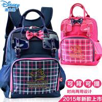 迪士尼书包小学生手拎包补习包 女童手提包儿童挎包女童双肩包韩版