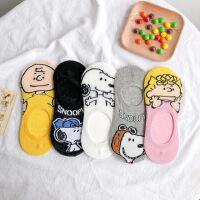 日系可爱卡通新款隐形船袜糖果色短袜夏季轻薄棉袜打底袜地板袜女