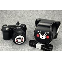 佳能M3相机包M10 100D750D80Dm3 M6皮套M100索尼60005100 2 6d 送随机一个热靴