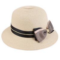 帽子女夏天出游防晒遮阳帽可折叠沙滩太阳帽户外度假大檐草帽