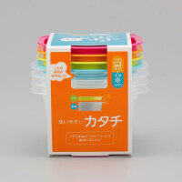 日本进口 食物保鲜盒 塑料密封盒 冷冻收纳盒 2种规格