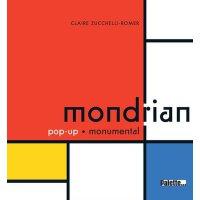 【现货】法语原版 蒙德里安:立体书 Mondrian : Pop-up monumental 978235832186