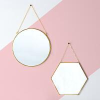光一洗脸镜子壁挂卫生间家用简易挂墙式浴室镜简约梳妆台镜挂式化妆镜