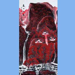 中国青年美术家协会常务理事,中国山水画院专业画家,国家一级美术师高云鹏(万山红遍)3
