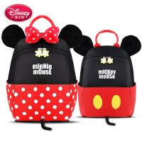迪士尼男童女孩双肩包宝宝小可爱1-3岁女童男背包儿童幼儿园书包5