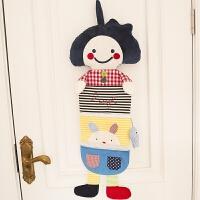 康乐屋挂袋卡通布艺收纳袋多层门后墙上创意储物袋 尺寸参考详情