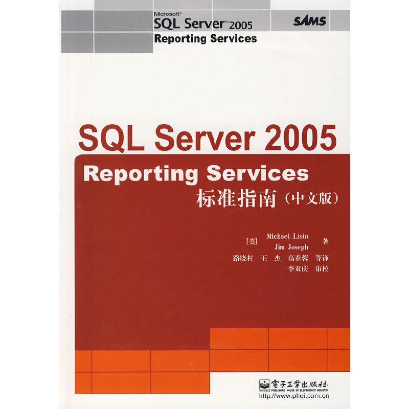 SQL Server 2005 Reporting Services 标准指南(中文版) PDF下载