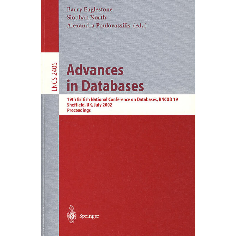 数据库进展 Advances in databases PDF下载