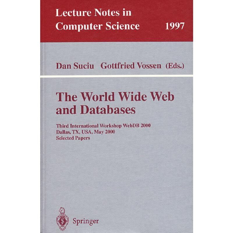 (万维网与数据库)The World Wide Web and databases PDF下载